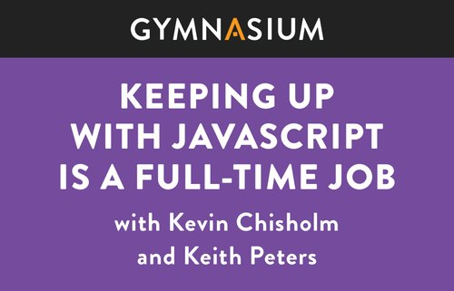 Live Event: Keeping Up with JavaScript image