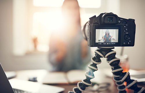Humanising your brand through online video image