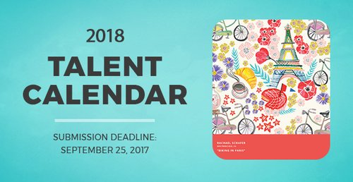 Call for Entries: Get Your Artwork in Our 2018 Calendar image